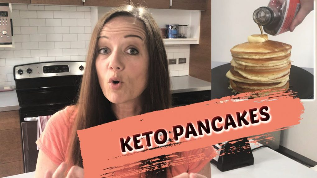 The Best KETO Blender PANCAKES (keto recipes for beginners)