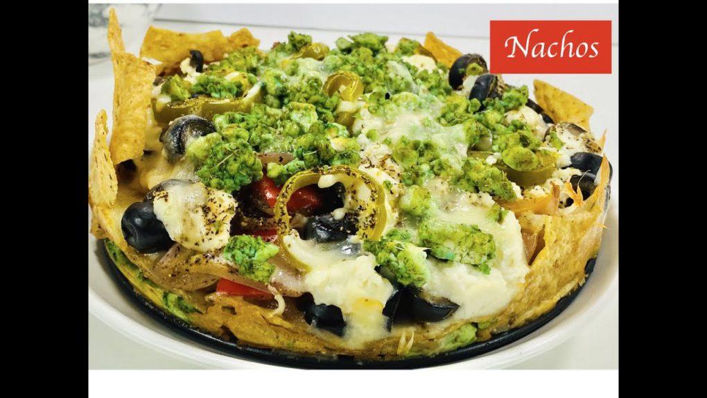 How To Make Best Nachos Ever|Nachos Recipe|Vegetarian Nachos|नाचोज़  रेसेपी|Vegetarian Recipe|Vegan|
