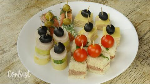 4 ideas to make the perfect appetizer in a few minutes!