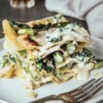 Springtime White Lasagna  gluten-free, dairy-free, vegetarian …
