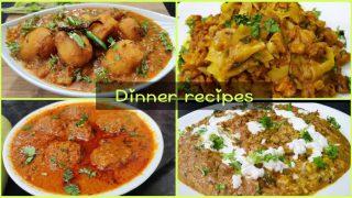Indian dinner party recipes,Quick vegetarian recipes,Guest Menu ideas,चार स्वादिष्ट इंडियन सब्जियां