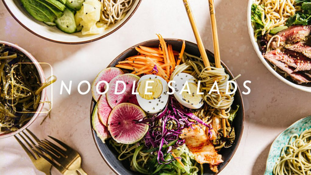 3 Easy NOODLE SALAD Recipes