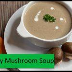 Keto Spicy Mushroom Soup | Easy To Keto Vegetarian Recipes