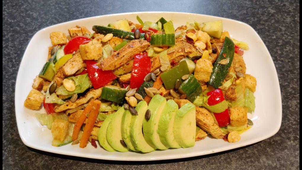 Grilled Chicken Salad Recipe   Easy Chicken Salad Recipe   Best Chicken Salad Recipe
