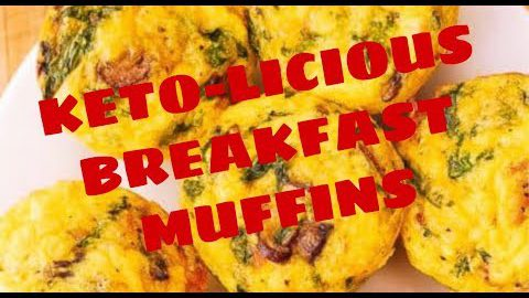 KETO KETO-licious BREAKFAST MUFFINS! BEST Keto Recipes to Make for Meal Prep and On the Go!