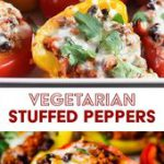Vegetarian Stuffed Peppers – Mexican-Style