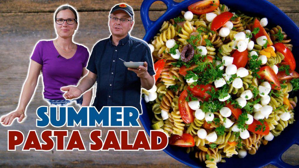 Summer Cookout Pasta Salad Recipe
