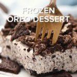 NO-BAKE OREO DESSERT – 15 Minutes & Crazy Easy and Delicious!
