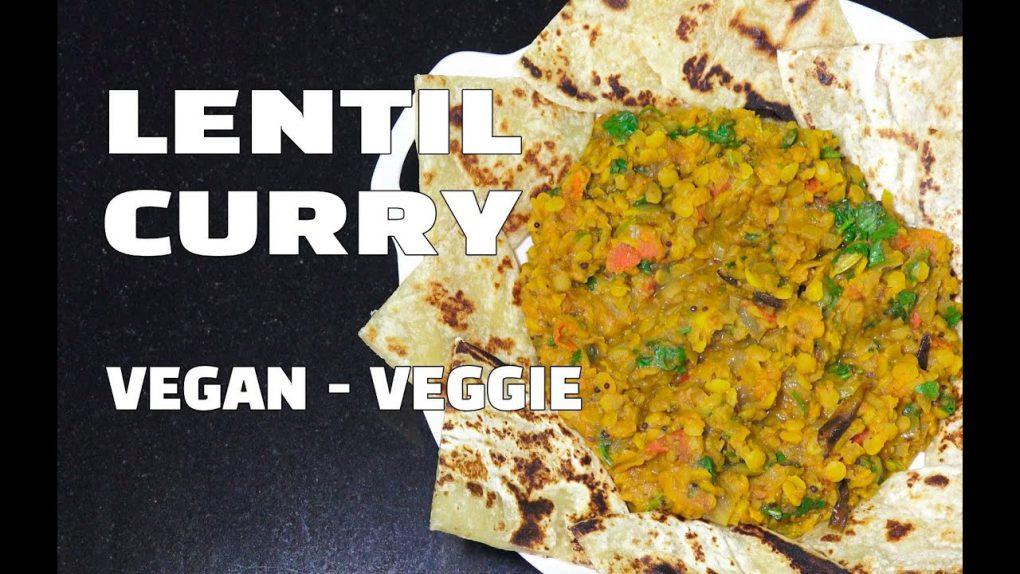 How To Make Lentil Curry – Vegan Recipes – Vegetarian Recipes – Youtube