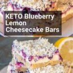 Keto Blueberry Lemon Cheesecake Bars – The Best Keto Recipes