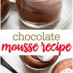 Chocolate Mousse is a sophisticated ultra smooth and creamy dessert that is perf…