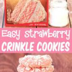 Strawberry Cake Mix Cookie Recipe! Just 4 Ingredients