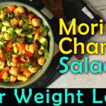 Moringa Chana Salad Recipe | Healthy Quick Easy Lunch or Dinner Recipe | Weight Loss