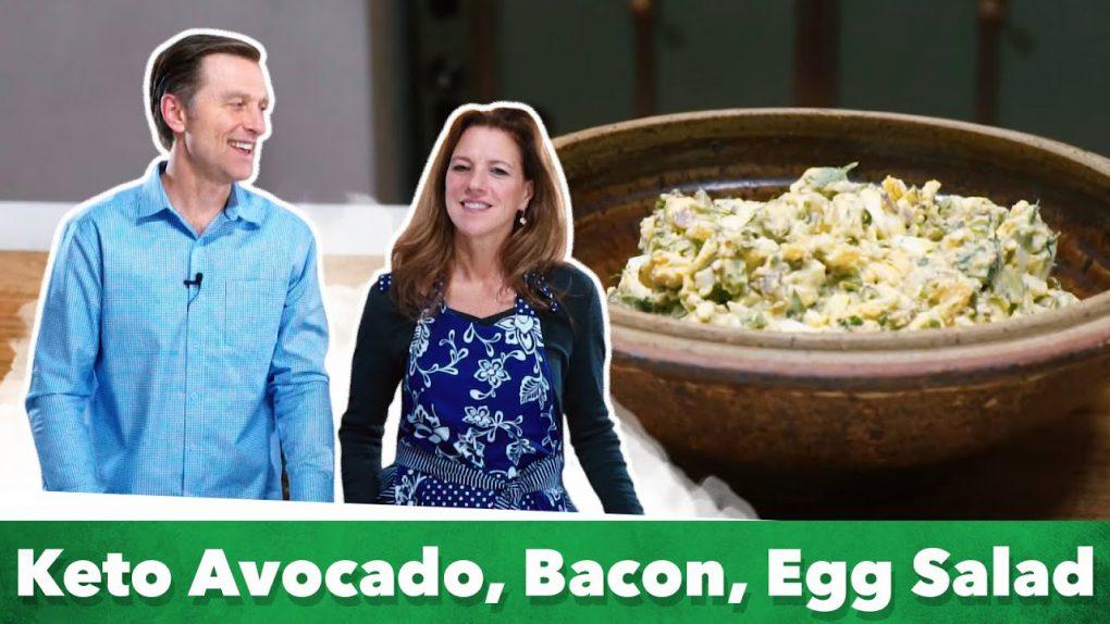 Easy Keto Avocado Egg Salad Recipe | Karen and Eric Berg