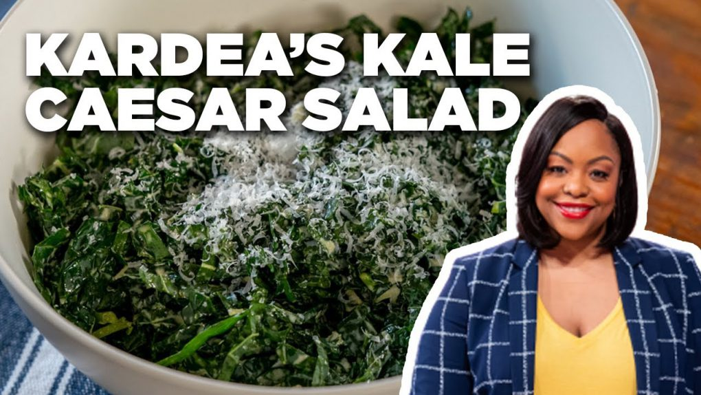 Kardea Brown's Kale Caesar Salad Recipe | Food Network