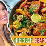 EASY HOMEMADE SEAFOOD BOIL RECIPE | COOKING SIMPLY DELICIOUS