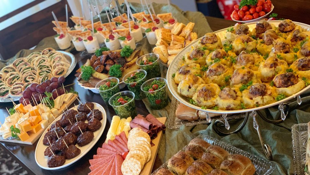 Party Appetizer Buffet Table – Galore Of Flavors