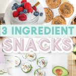 3 INGREDIENT SNACKS | Easy & Healthy Recipes!