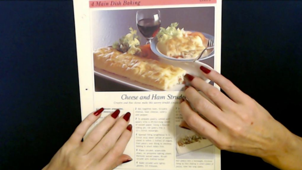 ASMR   Reading Main Dish Baking Recipes (Whisper)