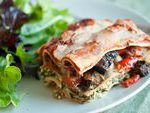 Roasted Vegetable Lasagna…