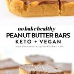NO BAKE HEALTHY PEANUT BUTTER BARS
