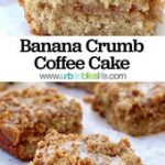 Banana Crumb Coffee Cake Recipe – Urban Bliss Life