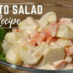 How To Make Potato Salad Recipe – Potato and Carrots Salad