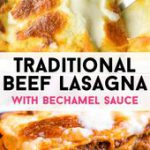 Traditional Beef Lasagna (Classic Recipe)