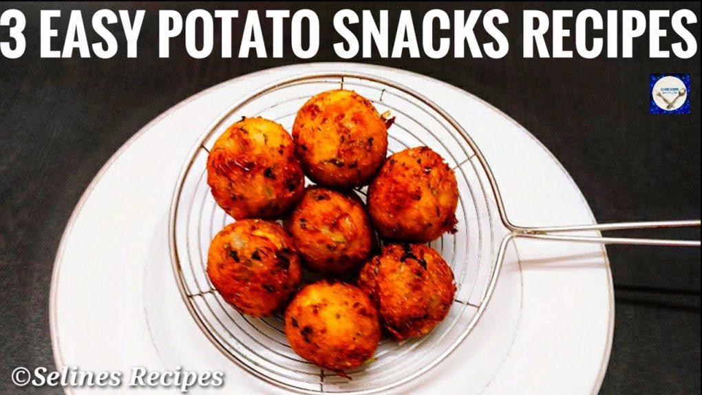3 Easy Potato Snacks Recipes |Quick Evening Snacks Recipes |Instant Snacks|