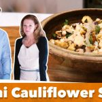 Healthy Keto Tahini Cauliflower Salad Recipe | Karen and Eric Berg