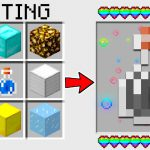 HOW TO CRAFT a CREATIVE POTION in MINECRAFT? SECRET RECIPE *WoW*