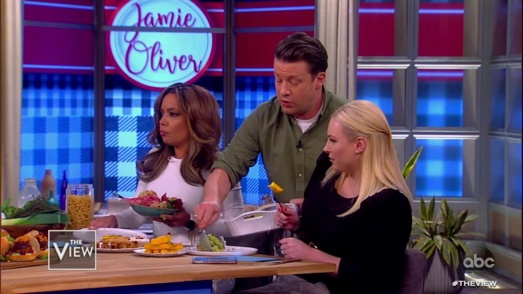 "Jamie Oliver Dishes Out Delicious Veggie Meals from ""Ultimate Veg"" Cookbook 