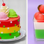 Most Satisfying Colorful Cake Recipes In Lock Down | Easy and Quick Cake Decorating Ideas At Home