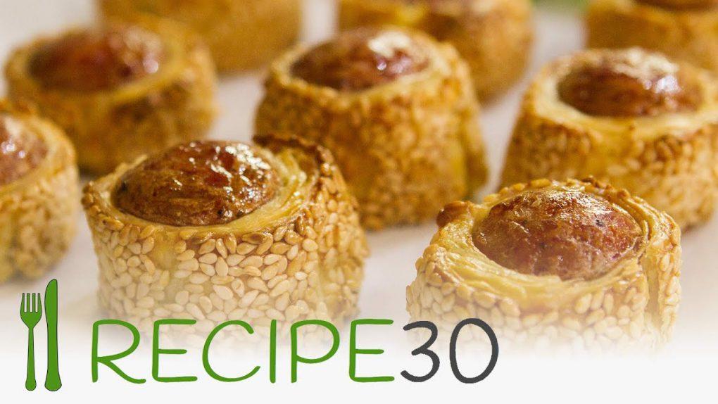 KABANOSY PUFFS Appetizer recipe