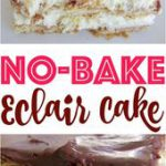 No-Bake Eclair Cake is a dessert that is so easy to make but the flavors come to…