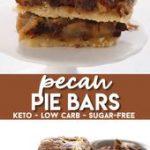 Keto Pecan Pie Bars