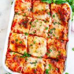 Garden Vegetable Lasagna – Best ever three layered vegetarian lasagna with zucch…