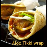 Aloo Tikki Wrap Recipe | Potato Tikki Roll |Veg Wrap | Vegetarian Recipes