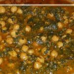 Chole Palak | Chickpeas with Spinach Curry | Spinach Garbanzo Curry | Recipe by Manjula