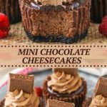 Mini Chocolate Cheesecakes Recipe | How to Make Cheesecake