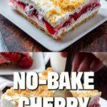 NO-BAKE CHERRY YUM YUM