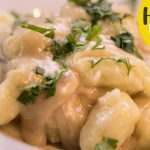 Vegetarian Recipes | Gnocchi with onion and garlic sauce | How to make Gnocchi
