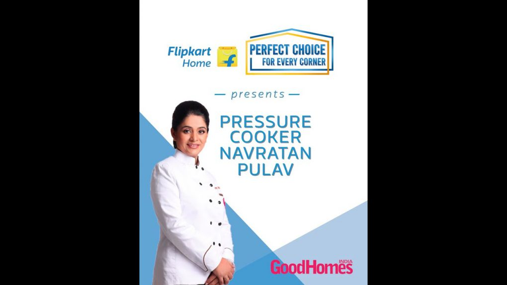 Quick fix Navratan Pulav recipe with Chef Pankaj and Flipkart Home