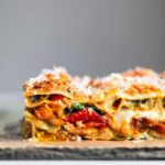 A family favorite roasted vegetable lasagna recipe, loaded with colorful fresh v…