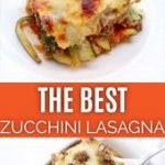 Zucchini Lasagna (keto friendly recipe)