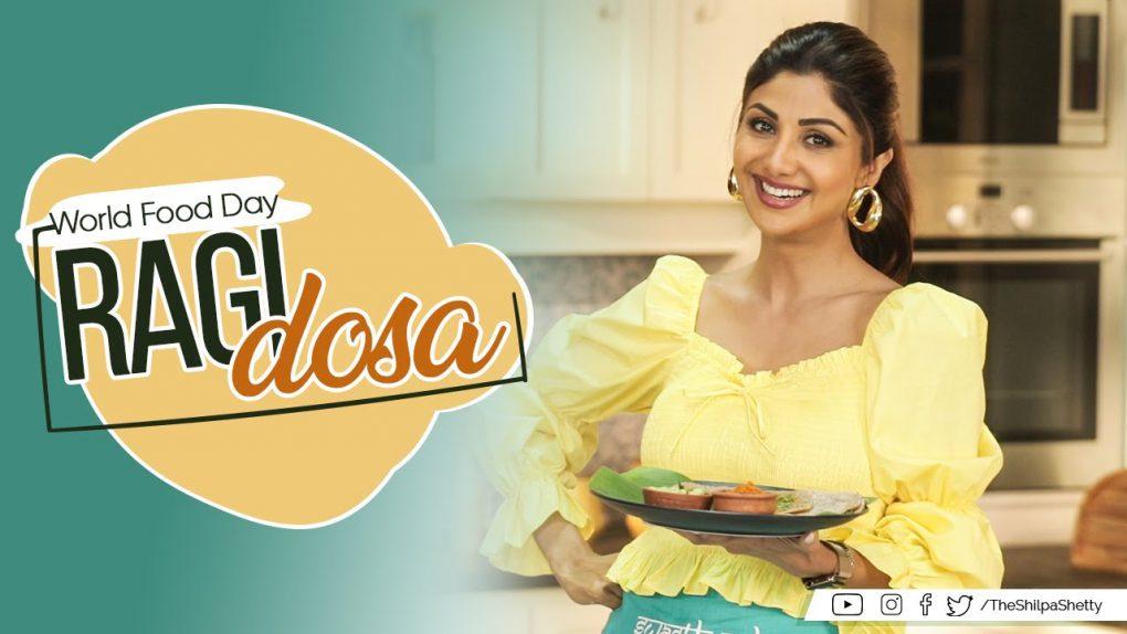Ragi Dosa | Shilpa Shetty Kundra | Healthy Recipes | The Art of Loving Food