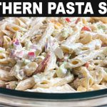 SOUTHERN PASTA SALAD RECIPE | EASY SIDE DISH | CATHERINES PLATES