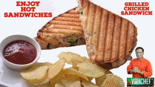 Enjoy Hot Hot Sandwiches – grilled Chicken Sandwich – Chicken Recipes – Sandwich Recipes