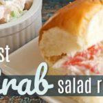Easiest Crab Salad Recipe