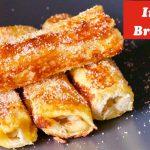 LockDown recipes, Instant breakfast recipe, 5 Minute recipes, Banana Bread rolls, French bread rolls